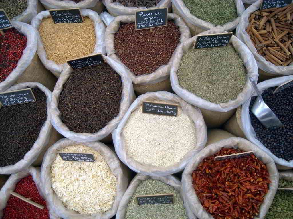 Provencal market spices