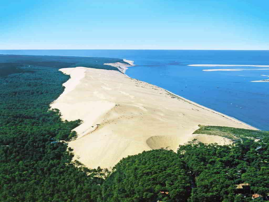 Pyla Dune in Arcachon bay