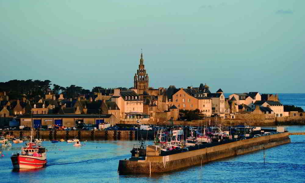 Roscoff from the Sea