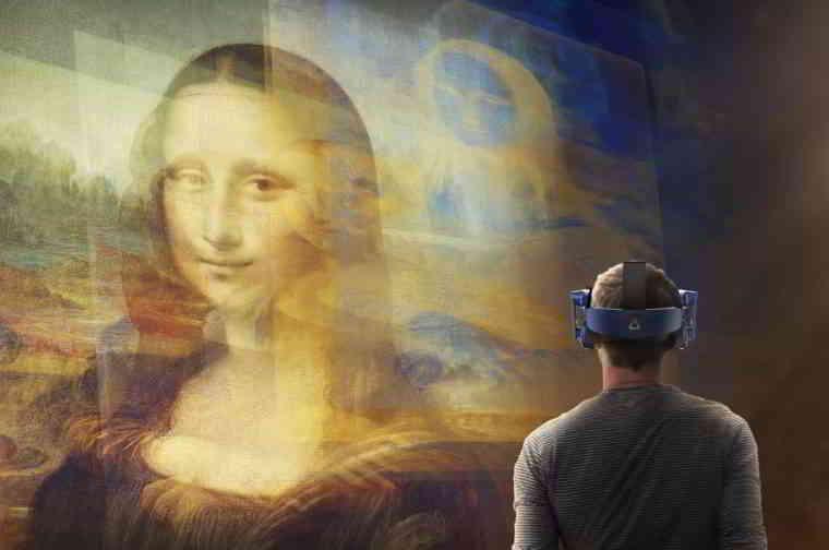 Mona Lisa Beyond the Glass @ Le Louvre