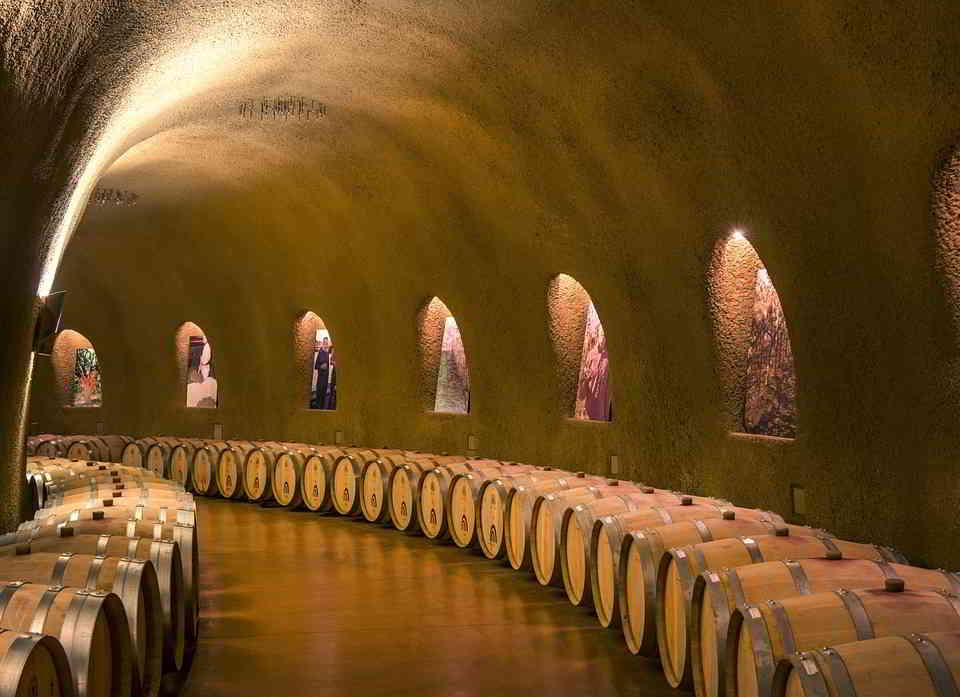 A Wine Cellar in California